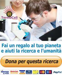 Dona per la ricerca termocell